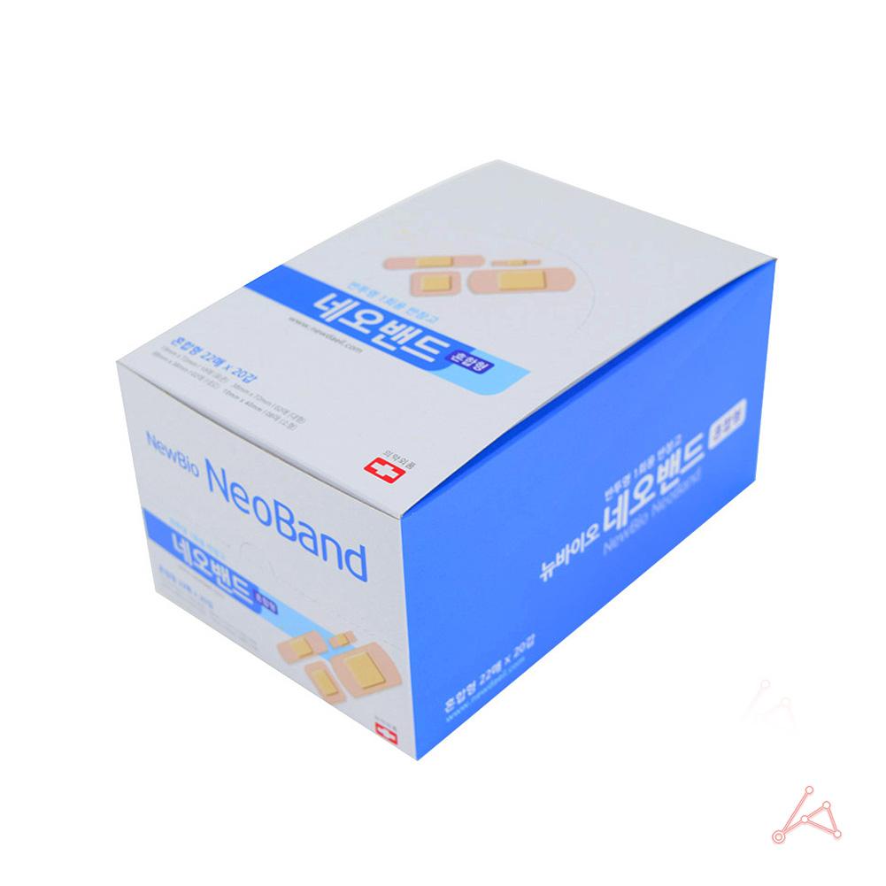 네오밴드 혼합형 반창고 1박스 (22매 x 20갑)_밴드