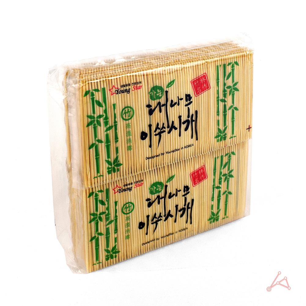 가는 대나무요지 봉지(리필)_5983_이쑤시개